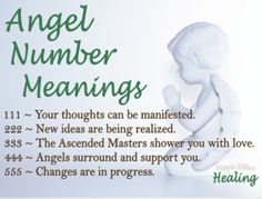 Angel Numbers: 111 to 555 | Ellen M. Gregg, Intuitive | angels, angel numbers, 111, 222, 333, 444, 555, spirit numbers