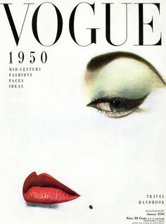 Holiday gift inspiration: A print of a vintage Vogue Cover. Vogue Vintage, Capas Vintage Da Vogue, Vintage Vogue Covers, Vintage Fashion, 1950s Fashion, Vogue Magazine Covers, Magazine Mode, Front Magazine, History Magazine