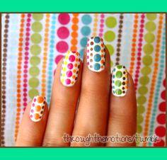 Fabric Inspiration Nails