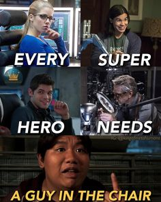 Funny that all the examples are DC and then there is Ned.