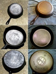 Cast iron cookware can need to be reconditioned as it ages. You might want to recondition it to cook with it or you might want to know how to recondition cast iron cookware for display purposes. Cast Iron Care, Cast Iron Pot, Cast Iron Dutch Oven, Cast Iron Skillet, Cast Iron Cookware, Cast Iron Cooking, It Cast, Iron Skillet Recipes, Cast Iron Recipes
