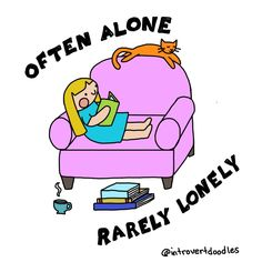 If you're an introvert, you'll understand these comics so well!