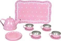 JaBaDaBaDo Kinder-Geschirr-Set/Tee-Set rosa G12011 bei Papiton bestellen.