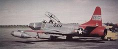Lockheed F-94 Starfire. 855 total Starfires were produced, in three seperate models. F-94A-5-LO s/n 49-2514.