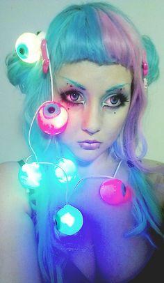 Eyes in my lights.