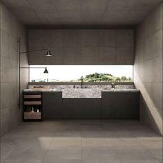 DOT fra Fioranese er Andrea Maffeies tolkning av betong. Dette er for han det materialet som best definerer moderne arkitektur. Architecture Mode, Contemporary Architecture, Bathroom Inspo, Bathroom Inspiration, Plaque Beton, Exposed Concrete, Conception, Bathtub, Flooring
