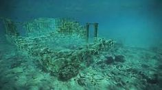 The Ancient Underwater Year-Old Sunken City in Greece is considered to be the Oldest Submerged Lost City in the World. Underwater Ruins, Ancient Names, Ancient Aliens, Ancient Greek, Ancient History, University Of Nottingham, Sunken City, Site Archéologique, Lost City