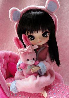 Sayu kawaii ♥ by Ribbonland via Flickr #doll #dal #pullip #pink