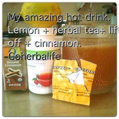 Herbalife Hot Drink Recipe-great for cold mornings  #herbalife www.goherbalife.com/jenniferwebber/en-US
