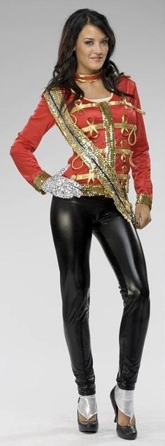 Sexy Female Michael Jackson Costume :)