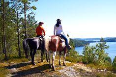 Horseback Riding in Western Sweden