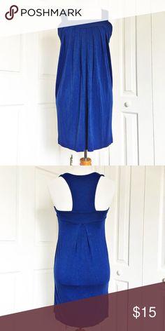 ⛱Lush Sundress Lush sundress, had been purchased at Nordstrom.  GUC!! Beautiful royal blue color!   Lush Dresses Mini