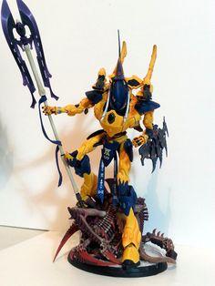 Eldar Wraithknight conversion