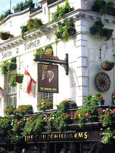 The Churchill Arms, London