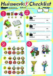 Hoe zelfstandig kan jouw kind huiswerk maken? Dit invulplannetje helpt je kind huiswerk maken en lessen leren.