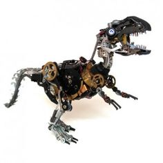Robot Animals - Trex | Foto: burrowburrow.com