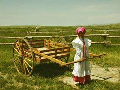 Mormon Pioneers | http://www.globaladventure.us/images/mormon_handcart.jpg