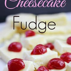 Cheesecake Fudge~ How could you resist? Amazing Fudge that is so easy! Cheesecake Fudge Recipe, Chocolate Chip Cheesecake, Fudge Recipes, Candy Recipes, Sweet Recipes, Dessert Recipes, Cheesecake Bites, Fall Recipes, Just Desserts