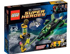Win a copy of LEGO DC Comics Super Heroes: Justice League vs. Bizzaro League AND a LEGO Green Lantern vs. Sinestro set. Giveaway ends 3/7/15