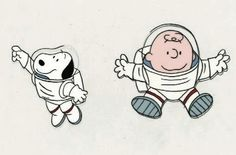 Snoopy & Charlie Brown