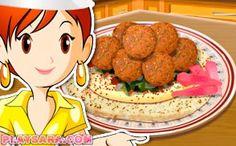 Sara's Cooking Class Online Games for Girls Pavlova, Spaghetti Bolognese, Biryani, Bento, Sara's Cooking Class, California Rolls, Pasta Carbonara, Class Games, Fettuccine Alfredo