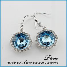 Item No.:AE1(1215) #Wholesale, #swarovski, #earrings, #jewelry, #crystal, #love, #wedding, #bridal, #diamond, #fashion, #factory