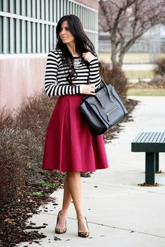 I really like this. I'm more in love with the skirt though.