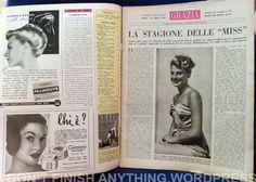 Grazia del 23 agosto 1952 - riviste vintage