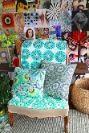 chair - sigh. look at yummy inspiration wall behind.