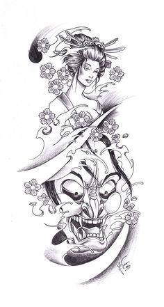 Geisha Tattoo Tumblr