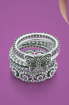Some of these Pandora Year Rings are SOOO pretty
