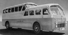 Pegaso Z-403 Monocasco, España                                                                                                                                                      Más Old Trucks, Pickup Trucks, Classic Trucks, Classic Cars, Bus City, Bus Living, Truck Art, Bus Coach, Commercial Vehicle