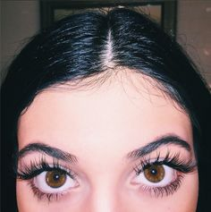 Kylie Jenner's Super Long Fake Eyelashes Will Finally Make You Stop Staring At Her Lips