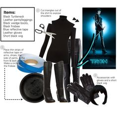 """""""DIY Halloween Costume: Quorra from Tron: Legacy"""" by princess-smiley on Polyvore"""