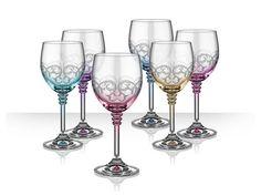 Pahar Rustique pentru vin rosu - 6 Piese Flute, Wine Glass, Tableware, Dinnerware, Tablewares, Flutes, Dishes, Tin Whistle, Place Settings