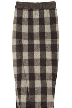 Awesome plaid skirt