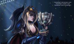 Champioship Ashe by HolyElfGirl
