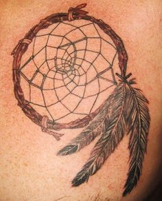 dream catcher tattoo done by Chilly, Prodigal Son Tattoo