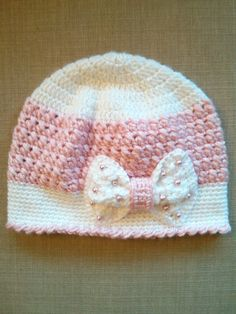 Handmade Crochet Hats for girls, Beanie Hats, Girls Crochet Hats by MyStylishCrochet on Etsy
