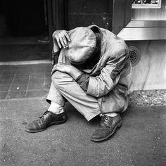 Vivian Maier Street Photography - Crumpled Man