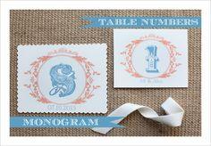 vintage monogram download
