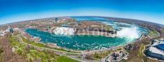 Panorama of the Niagara Falls