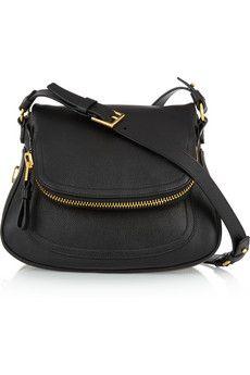 Tom Ford Jennifer medium textured-leather shoulder bag   NET-A-PORTER