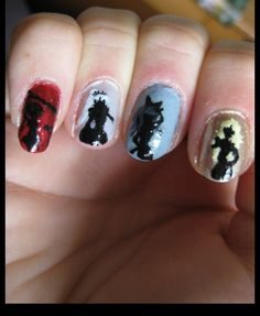 RWBY Nails I want it!