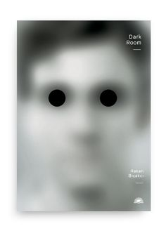 black and white composition, placement for the black dots intrigues, use of small thin sans serif typography. Shows no focus, except for the eyes that are focused elsewhere if at all Book Cover Design, Book Design, Graphic Design Illustration, Graphic Art, Plakat Design, Beautiful Posters, Cool Books, Print Layout, Communication Design