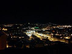 Miradouro da Senhora do Monte num tour à noite que pode fazer com a Tuk Tuk Tejo.   Senhora do Monte's Point of View in a night tour that you can book with Tuk Tuk Tejo.  #TuktukTejo #Ecotours #Lisbontours #SenhoradoMonte #Lisboa #Lisbon #Lisbone