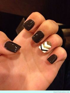 Nail art design to flaunt this fall! Check this amazing beauty nails just now! <3 Along with more nail art designs :)
