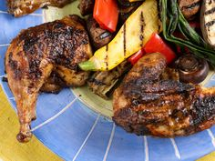 Jerk Chicken : Flavorful ingredients like rum, chiles and ginger quickly come together to make the spicy, succulent jerk chicken you (and your grill) have been waiting for.