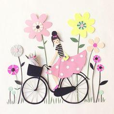 Papercut illustration / Hanna Nyman