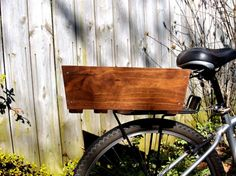 Wooden Bike Basket | 15 Bike Baskets and Panniers